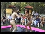 Susanne vs Betty Summer Games  DWW Female Wrestling