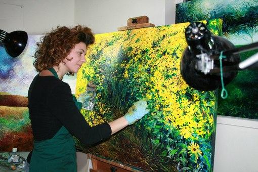 Американская художница Айрис