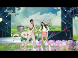 150501 Irene (Red Velvet) and Park Bo Gum - One and a half  @ Music Bank