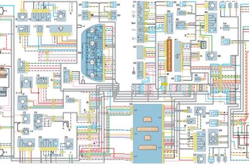 Схема проводки ваз 2112 16 кл.