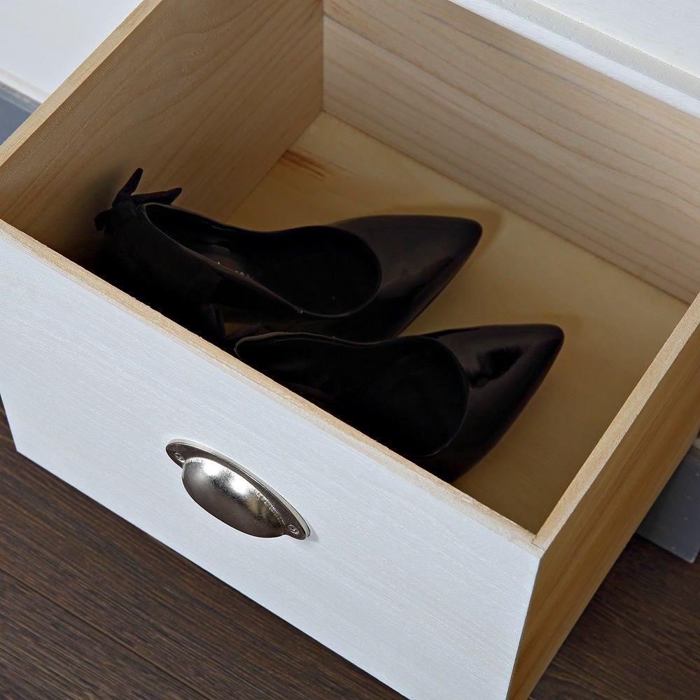 Armario Feito De Caixote ~ Banco de asiento comoda, armario de zapatos almacenamiento madera pasillo