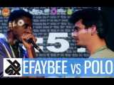 POLO [NORTH] vs EFAYBEE [WEST] | LA CUP '15 ~ French Regions | 1/2 Final