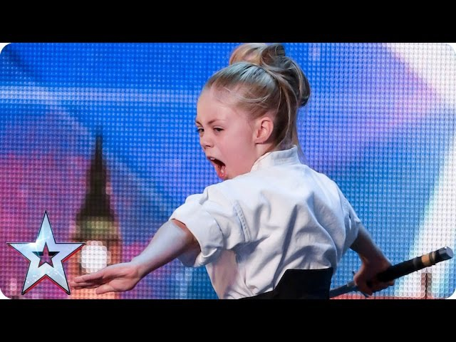 Don't mess with karate kid Jesse Audition Week 2 Britain's Got Talent 2015