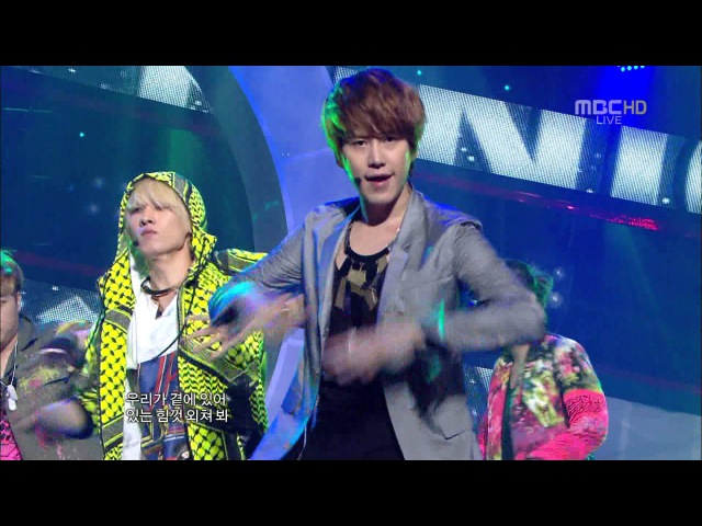 [Full HD] SUPER JUNIOR Superman Mr. Simple 2011.08.06 - Comeback Stage [110806]