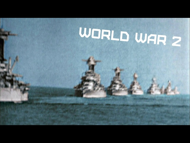World War 2 • Battle of the Atlantic • In colour