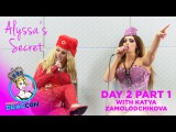 Alyssa Edwards' Secret w/ Katya Zamolodchikova Day 2 Part 1 at RuPaul's DragCon 2015