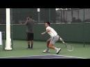 Удар справа и слева в большом теннисе