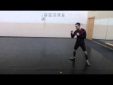 Minsk HEMA Fight Clubthe basic response of linear movements with longsword