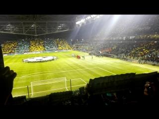 Гимн Лиги Чемпионов, Астана - Атлетико Мадрид. Часть нашего путешествия в Казахстан