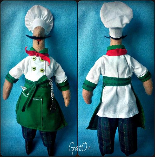 Мистер Белисимо!!!))))кукла повар!!!