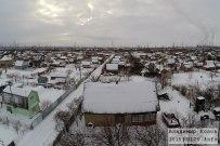 04 января 2015 -  Дачи за ПТО в Тольятти зимой с высоты