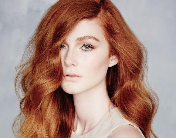 Фото тициановский цвет волос