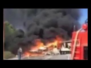 Страшное ДТП на трассе М-53 в Красноярском Крае автобус против фуры 22 июля