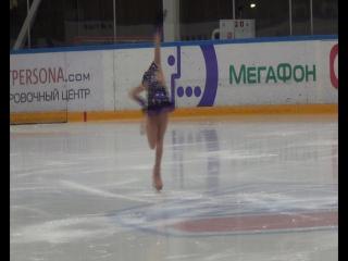 Ирина Большакова, 2 спорт. разряд, короткая программа