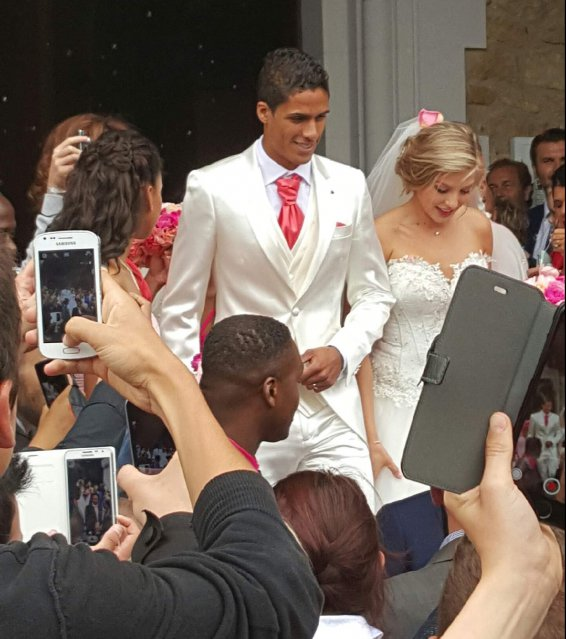 Varane wedding