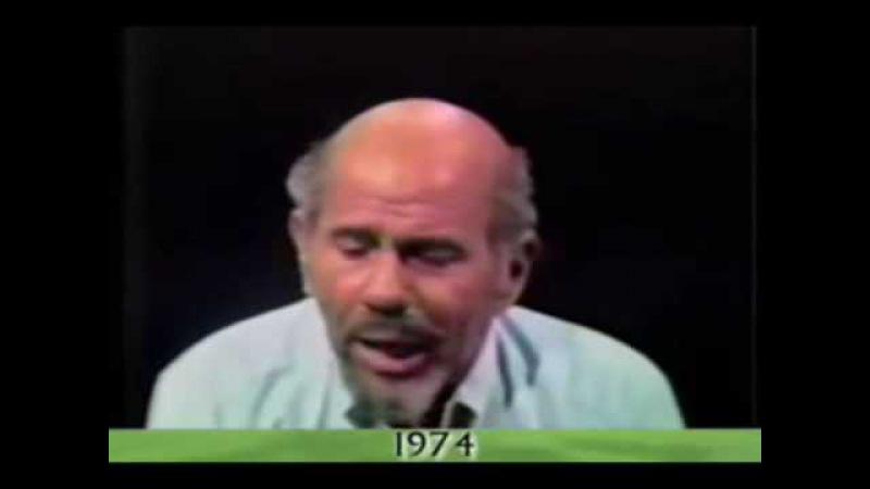 Выступление Жака Фреско на шоу Ларри Кинга. 1974 год.