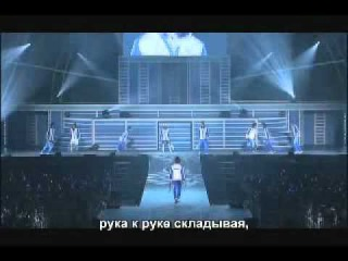 the prince of tennice musical - tenimuy - live dream 6th sample + русские субтитры