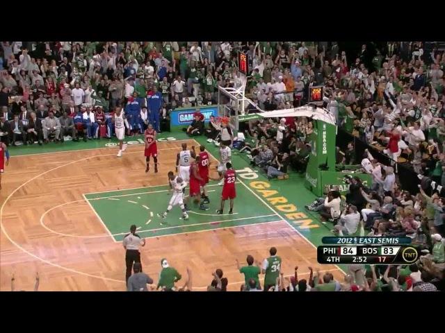 Kevin Garnett 29 points vs 76ers full highlights (2012 NBA Playoffs CSF GM1)