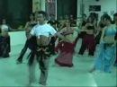 Escuela de danzas árabes SAIDA - Clase de 5to año a cargo de Yamil Annum (2007)