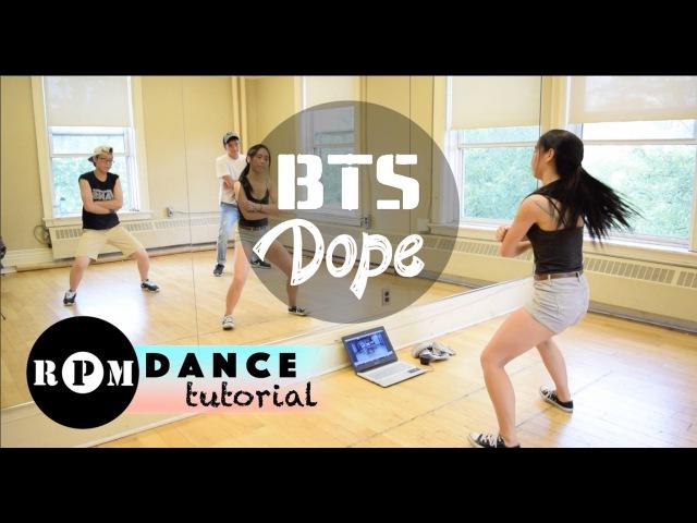 BTS Dope Dance Tutorial (Choruses)