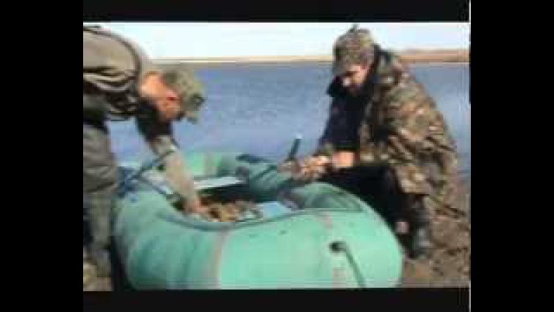 Ловля раков. Казахстан, Актюбинская обл , г Эмба 5, озеро Киргизская 480