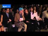 Alexa Chung talks ethical fashion at Edun NYFW show