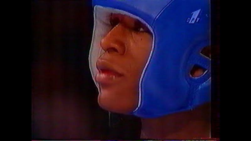 Floyd Mayweather - Serafim Todorov. ATLANTA 1996 OLYMPIC GAMES BOXING-57 kg.SEMIFINAL (full version)