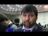 О выборах на Украине и о минских переговорах Денис Пушилин