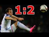 Молдавия - Россия 1:2 Обзор и голы. Отбор на Евро 2016 | Футбол