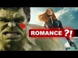 Black Widow Hulk romance?! Bruce Banner & Natasha Romanoff in Avengers 2 - Beyond The Trailer