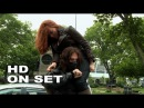 Captain America: The Winter Soldier: Scarlett Johansson Black Widow Behind the Scenes (Full Broll)