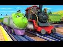 Веселые паровозики из Чаггингтона: Спор Ходжа и Коко (1 Сезон/Серия 39) - мультфильмы про паровозики
