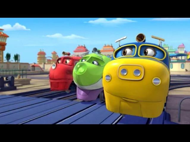 Веселые паровозики из Чаггингтона Секрет Ходжа 1 Сезон Серия 27 мультфильм про паровозики