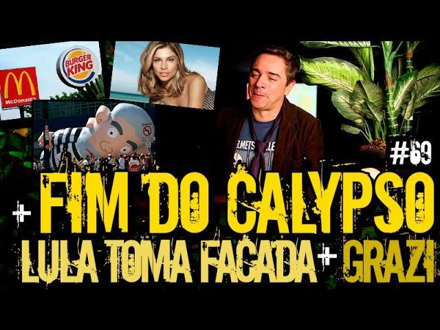 LULA TOMA FACADA FIM DO CALYPSO   Plantão do Vilela   069