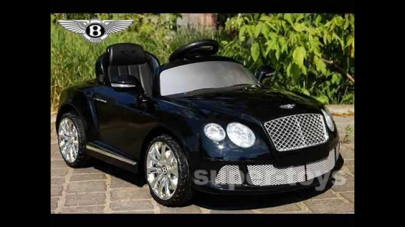 Машина р/у, Bentley, 2 мотора 35W, аккум 12V/7AH, 3,6-7км/ч