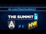 Alliance vs NaVi #1 (Ru) | The Summit 3 EU (27.03.2015)