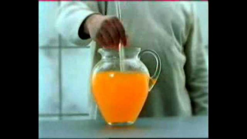 Реклама растворимого напитка Инвайт (Invite)