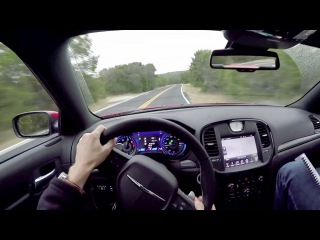 2015 Chrysler 300S - WR TV POV Canyon Drive |