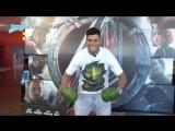 Годный косплей Халка на премьере блокбастера Мстители : Эра Альтрона