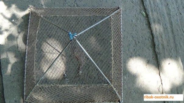 Раколовка своими руками схема размеры из металла 25