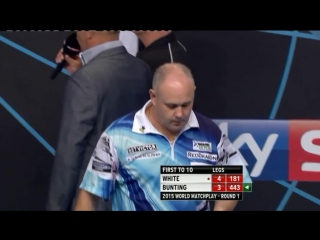 Ian White vs Stephen Bunting (World Matchplay 2015 / Round 1)