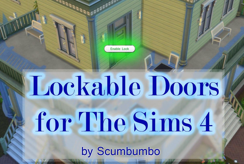Мод на закрывание дверей