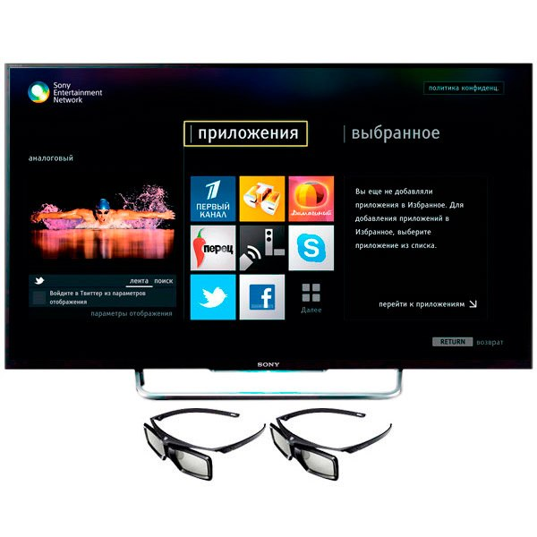 Телевизор KDL50W828B, Sony