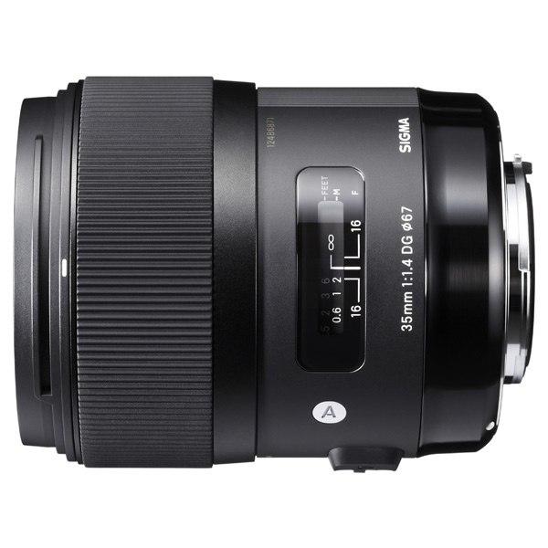 Объектив для зеркального фотоаппарата AF 35mm F/1.4 DG HSM Nikon, Sigma