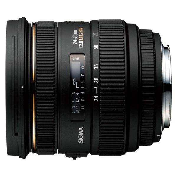 Объектив для зеркального фотоаппарата AF 24-70mm F2.8 IF EX DG HSM Canon, Sigma