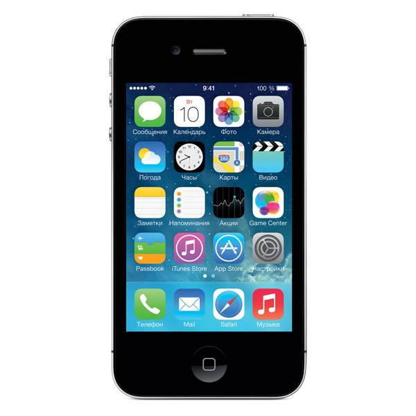 Смартфон iPhone 4S 8Gb Black (MF265RU/A), Apple