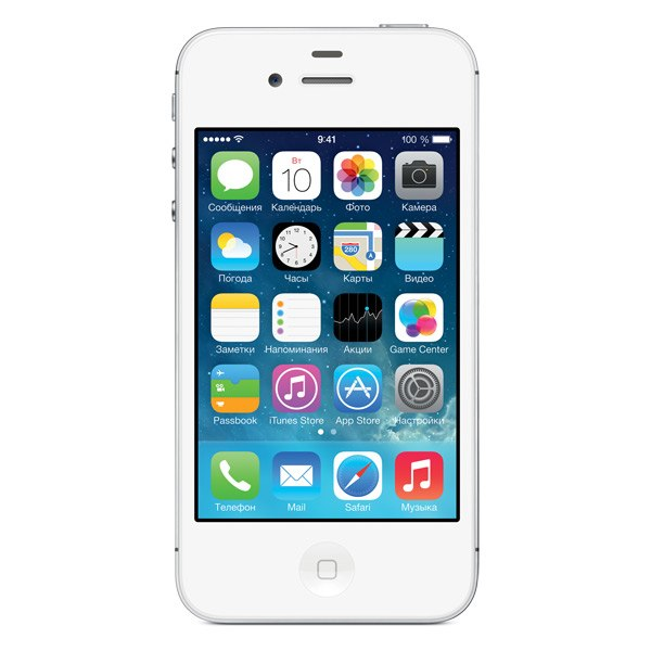 Смартфон iPhone 4S 8Gb White (MF266RU/A), Apple