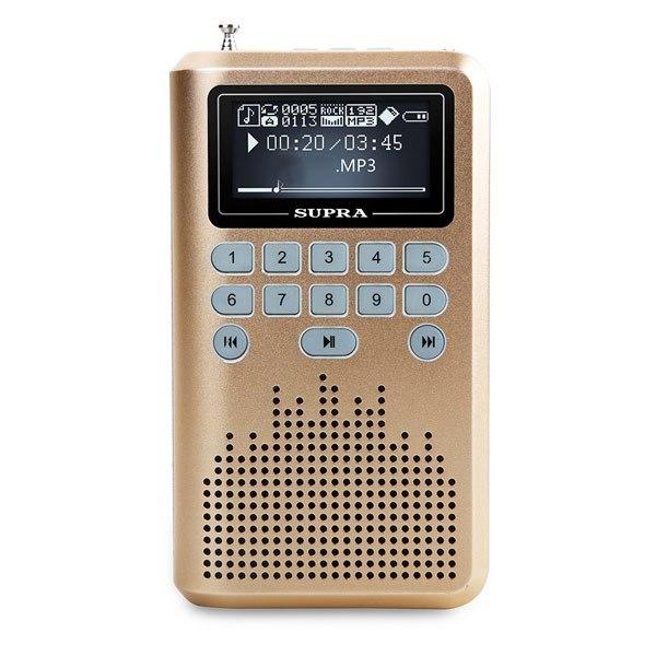 Радиоприемник PAS-3907 Gold, Supra