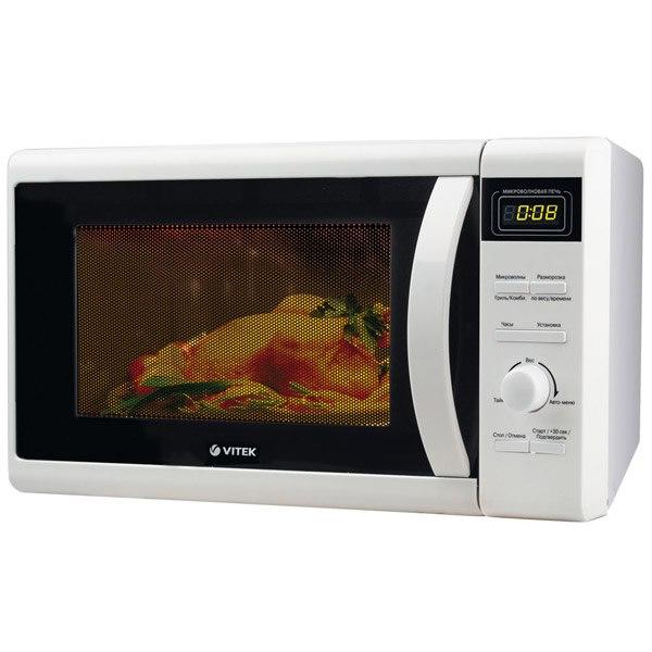 Микроволновая печь с грилем VT-1681W, VITEK