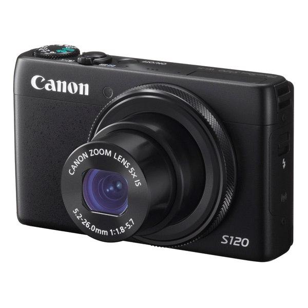 Фотоаппарат компактный премиум PowerShot S120 Black, Canon
